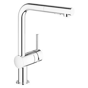 Grohe Minta Single Handle Pull-Out Kitchen Faucet