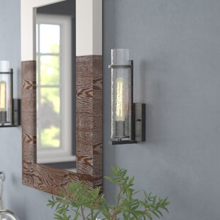 Wetumka 1-Light Bath Sconce by..