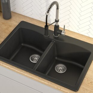 Quickview. Black. Gray & Drop-In Kitchen Sinks Youu0027ll Love | Wayfair