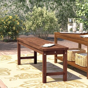 Darby Home Co Widmer Patio Dining Bench