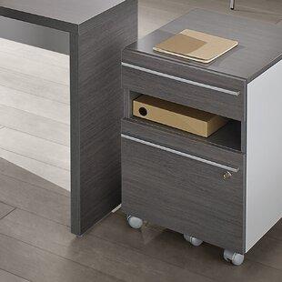 Grant 3 Drawer Mobile Pedestal By Ebern Designs