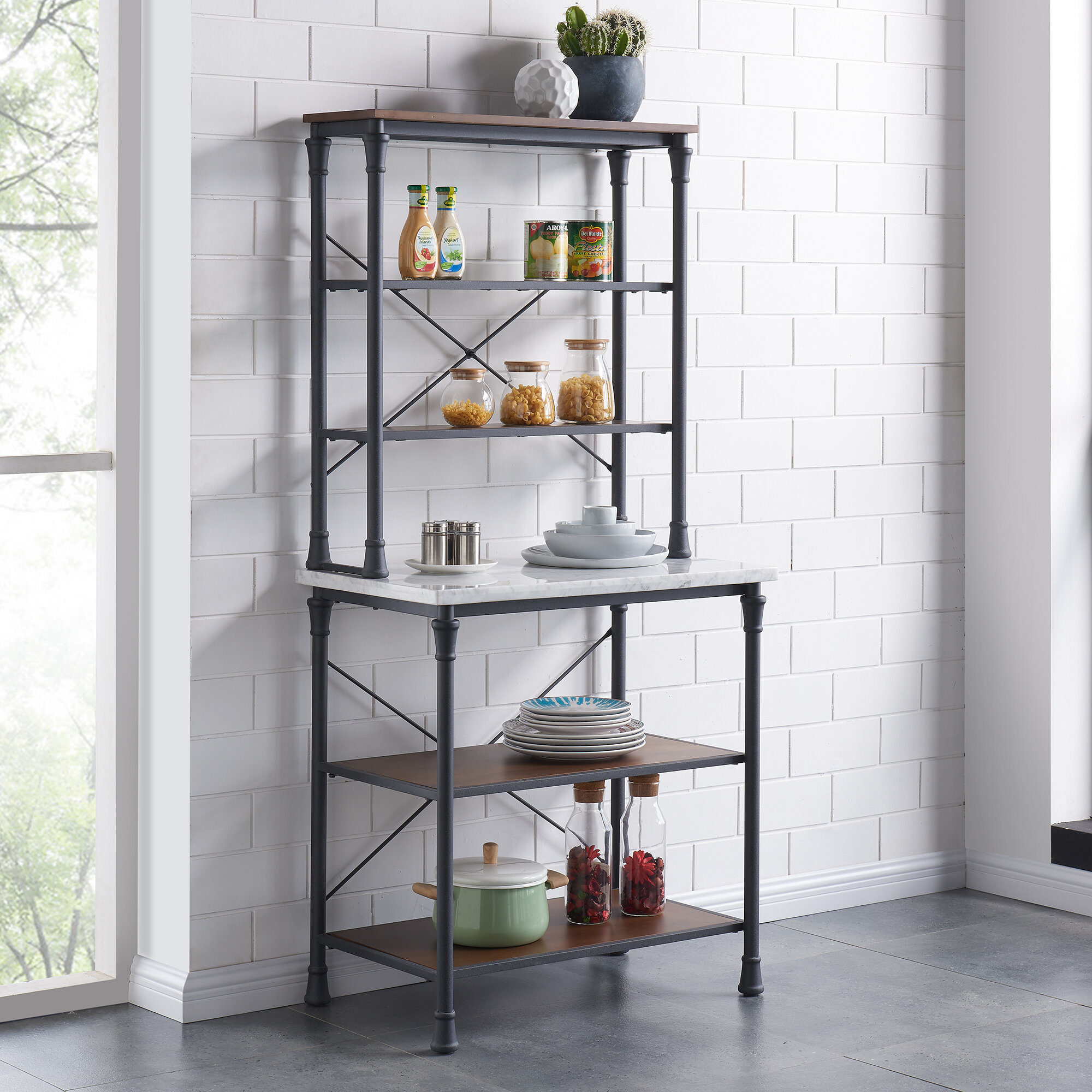 cramco b dining bakers espresso room s furniture inc and wolf by rack products gardiner racks baker