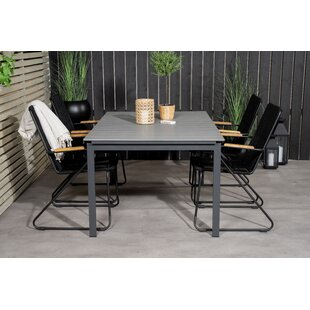 Aldean 4 Seater Dining Set By Sol 72 Outdoor