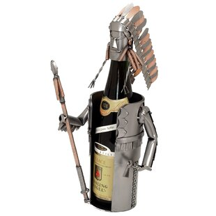 Indian Chief 1 Bottle Tabletop Wine Rack ..