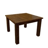 Bechtold Timber Peg Extendable Solid Wood Dining Table by Millwood Pines