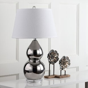 Festus Double Gourd 25.5 Table Lamp (Set Of 2) by House of Hampton 2019 Coupon