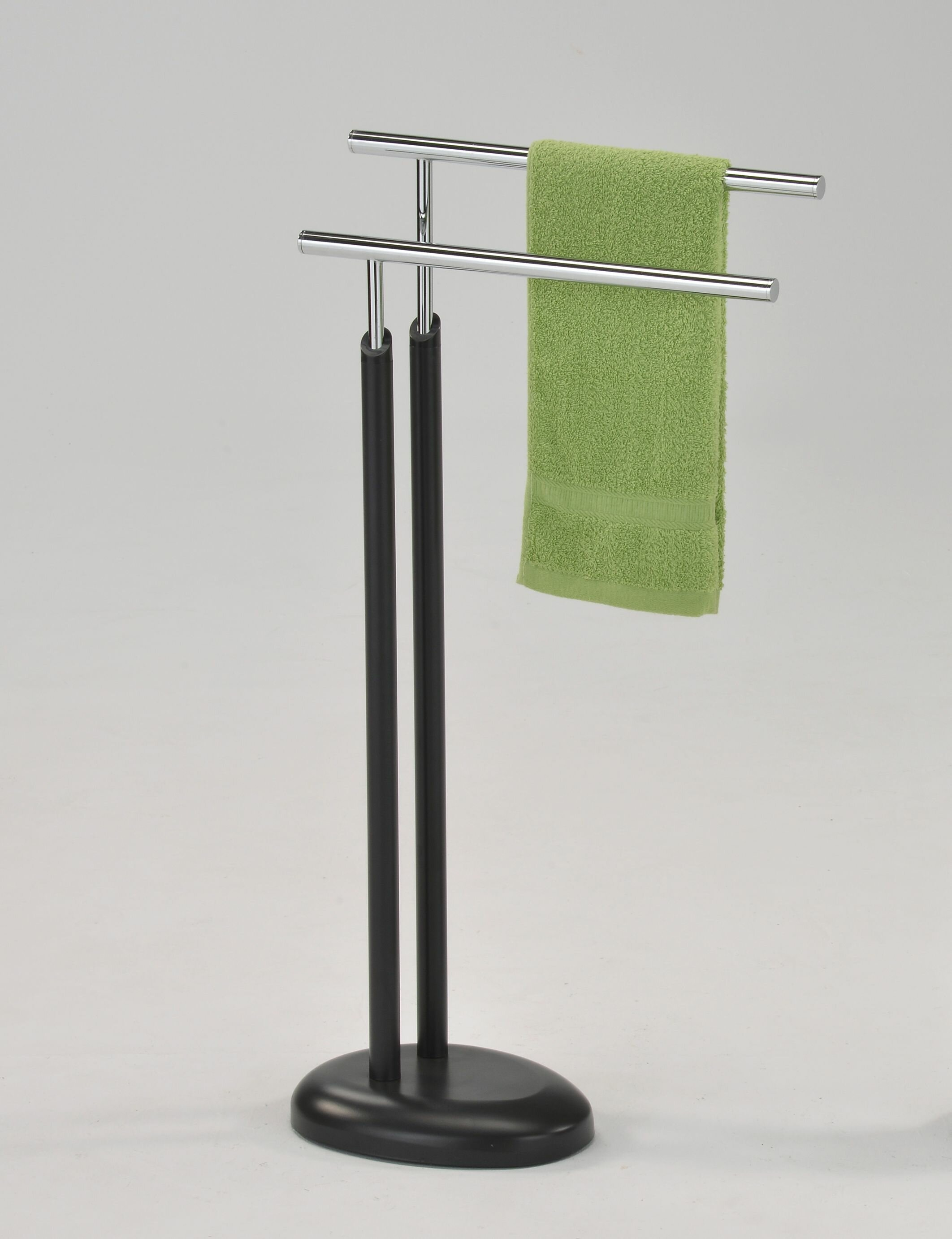 Ranpin Double Free Standing Towel Rack
