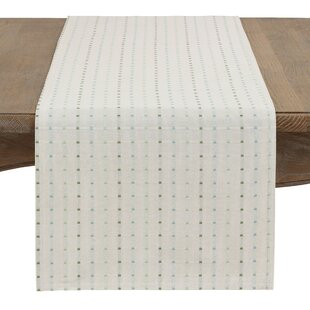 Queensbury Box Stitched Table Runner