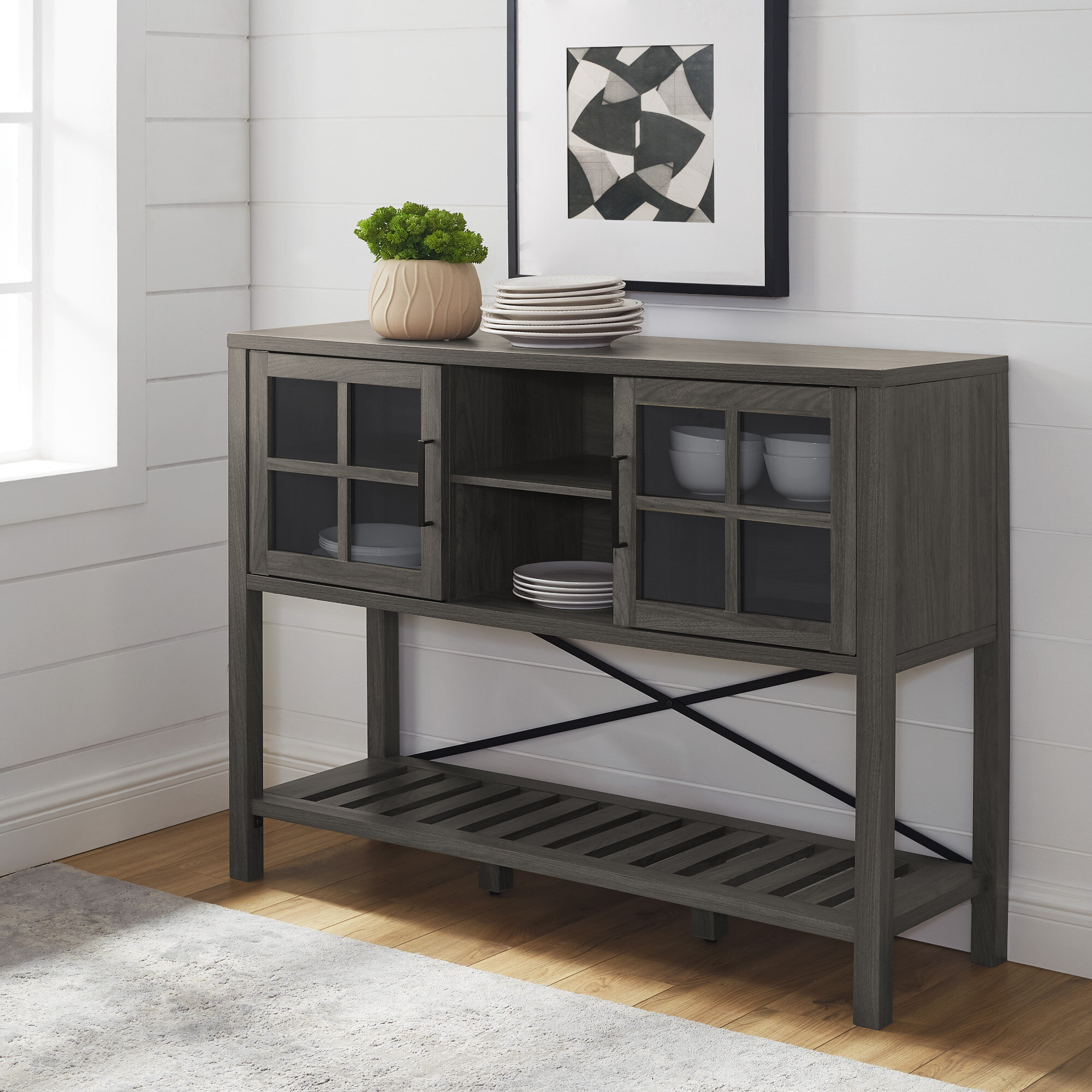 Picture of: Narrow Sideboards Buffets You Ll Love In 2020 Wayfair