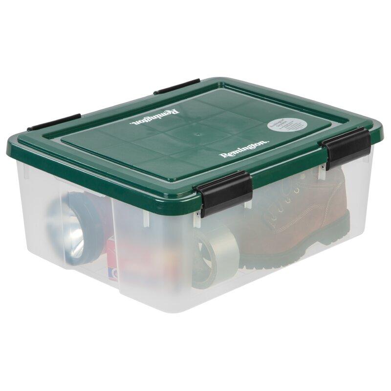 Remington Weathertight Storage Box  sc 1 st  Wayfair & IRIS Remington Weathertight Storage Box | Wayfair