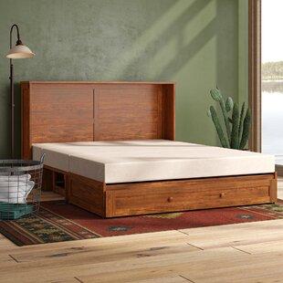 Planas Queen Storage Murphy Bed with Mattress