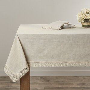 Hanneli Lace Border Tablecloth