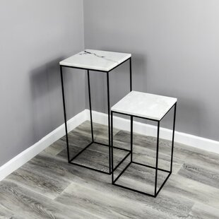 Discount Marcinelle 2 Piece Nesting Plant Stand Set