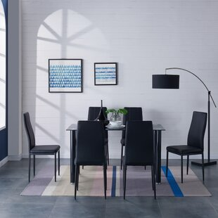 Aurellia Dining Set With 6 Chairs By 17 Stories