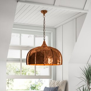Lexie 1-Light Inverted Pendant by Mistana