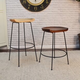 Read Reviews Axelle 30.5 Bar Stool (Set of 2) by Union Rustic Reviews (2019) & Buyer's Guide