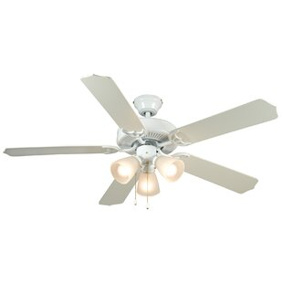 Shop For 52 Palladium 5-Blade Ceiling Fan By Hardware House