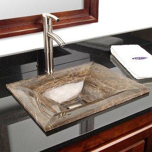 Shopping for Natural Stone Sinks Stone Rectangular Vessel Bathroom Sink By D'Vontz