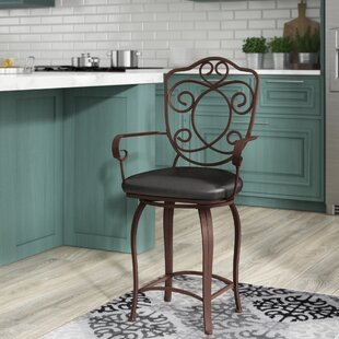 Balmoral 24 Swivel Bar Stool Astoria Grand