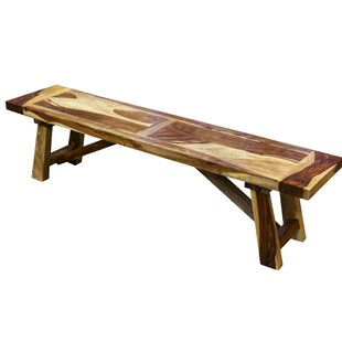 Marissa Wood Bench by Loon Peak