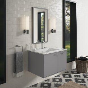 Read Reviews Jute™ 30 Wall-Mounted Single Bathroom Vanity Set ByKohler