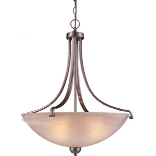 Alcott Hill Stivers 4-Light Bowl Pendant