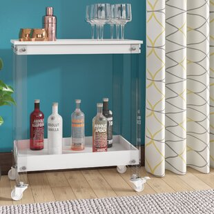 Brayden Studio Cloninger Bar Cart