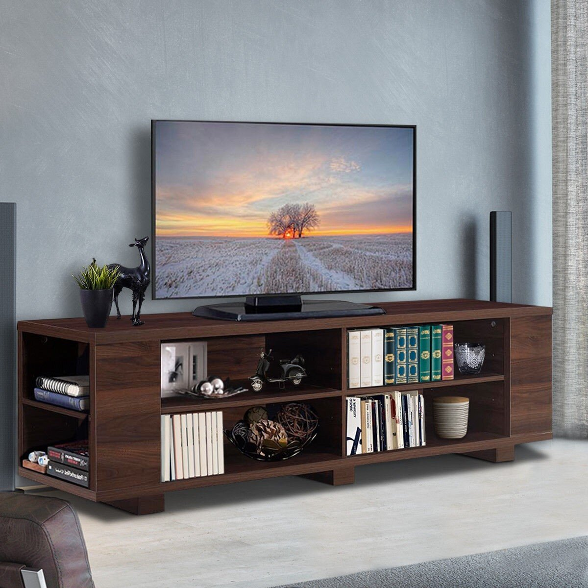 60 69 Inch With Flat Screen Mount Tv Stands Entertainment Centers You Ll Love In 2021 Wayfair