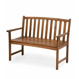 Lancaster Eucalyptus Wood Garden Bench