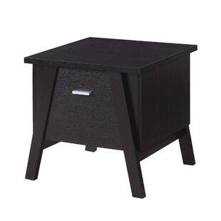 Ziebarth End Table with Storage by Brayden Studio
