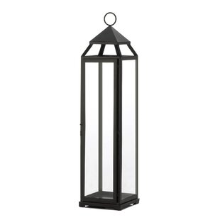 Crystal/Metal Lantern by Gracie Oaks