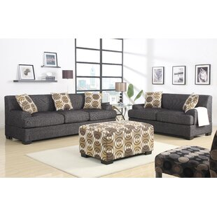 Jesse 2 Piece Living Room Set by A&J Homes Studio