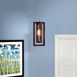 Erick 1-Light Square/Rectangle Pendant by Corrigan Studio