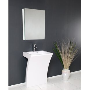 Comparison Quadro 23 Single Bathroom Vanity Set with Mirror ByFresca