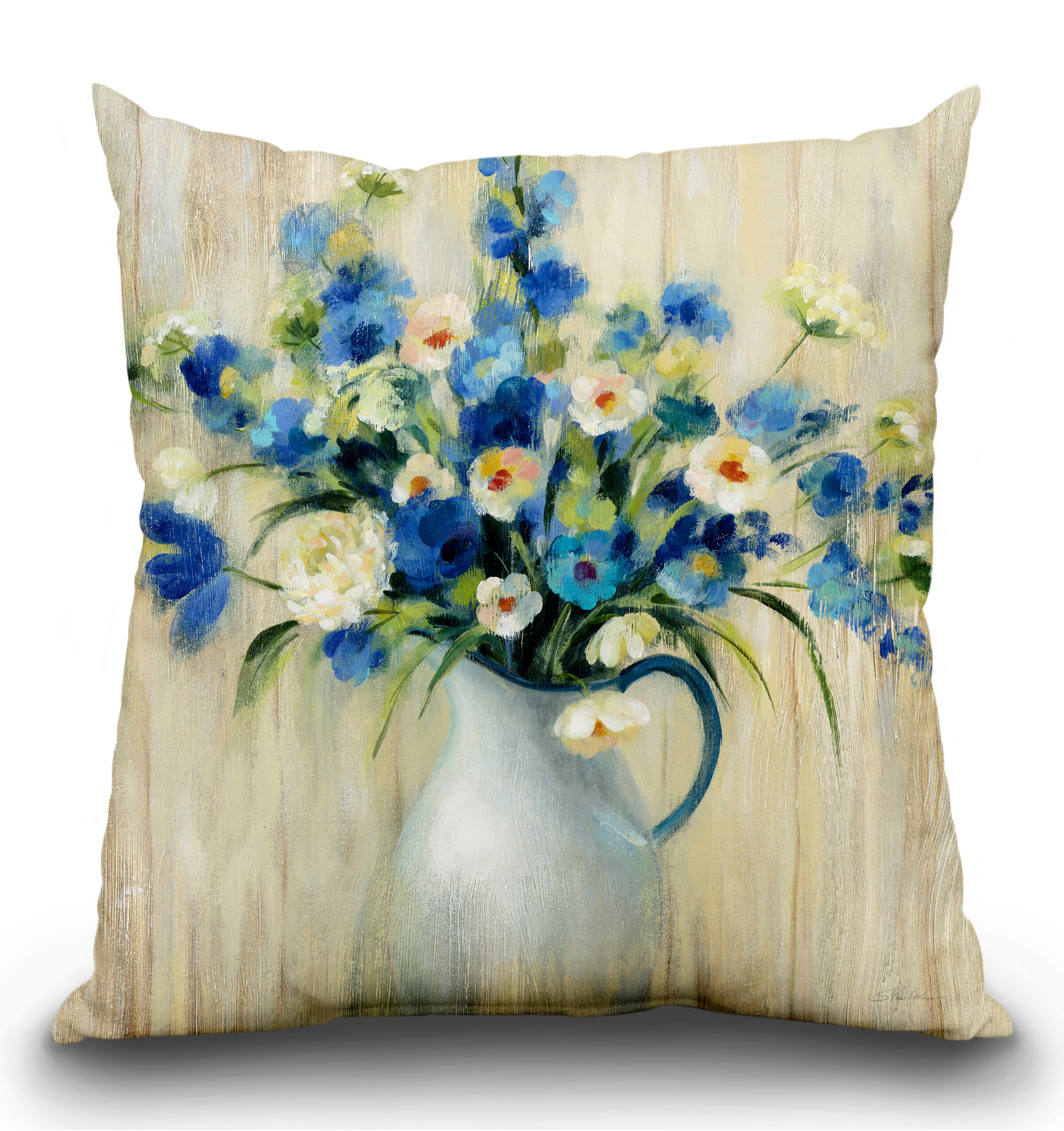 Magnificent Haverford Bouquet Throw Pillow Pdpeps Interior Chair Design Pdpepsorg