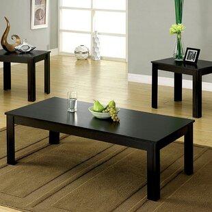 Winston Porter Laverock 3 Piece Coffee Table Set