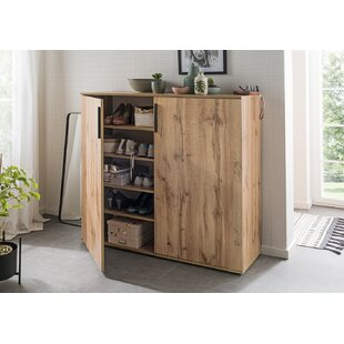 Leocadia 24 Pair Shoe Storage Cabinet By Ebern Designs