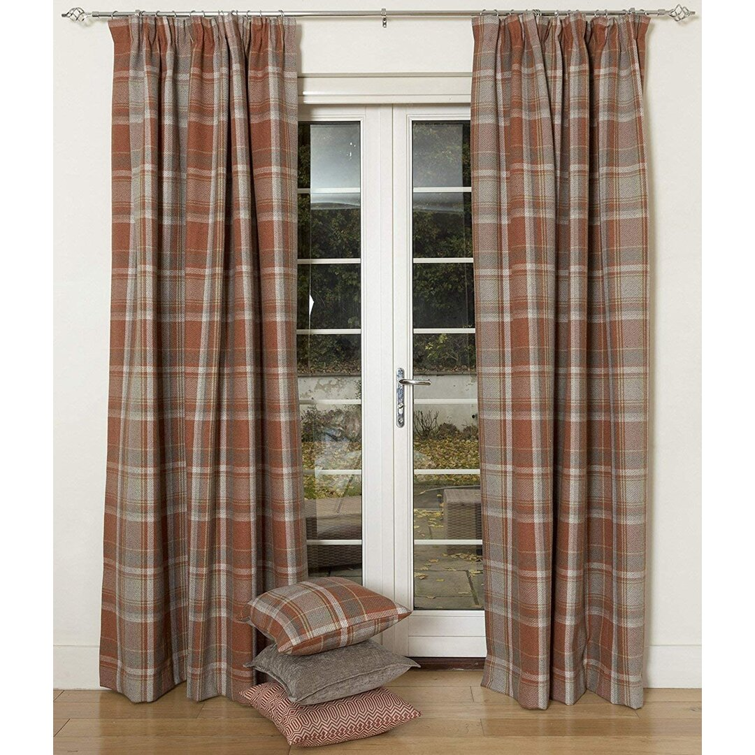 Coventry Heritage Tailored Eyelet Blackout Thermal Curtains