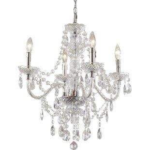 Crystal Bedroom Chandelier | Wayfair