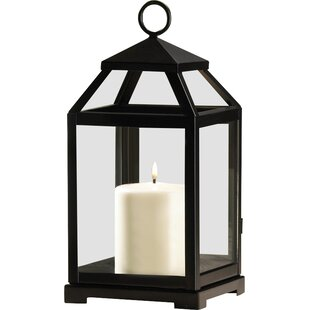 Price Check Contemporary Iron Lantern By Laurel Foundry Modern Farmhouse