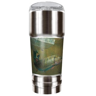 Mark Susinno's Muskie 32 oz. Stainless Steel Travel Tumbler