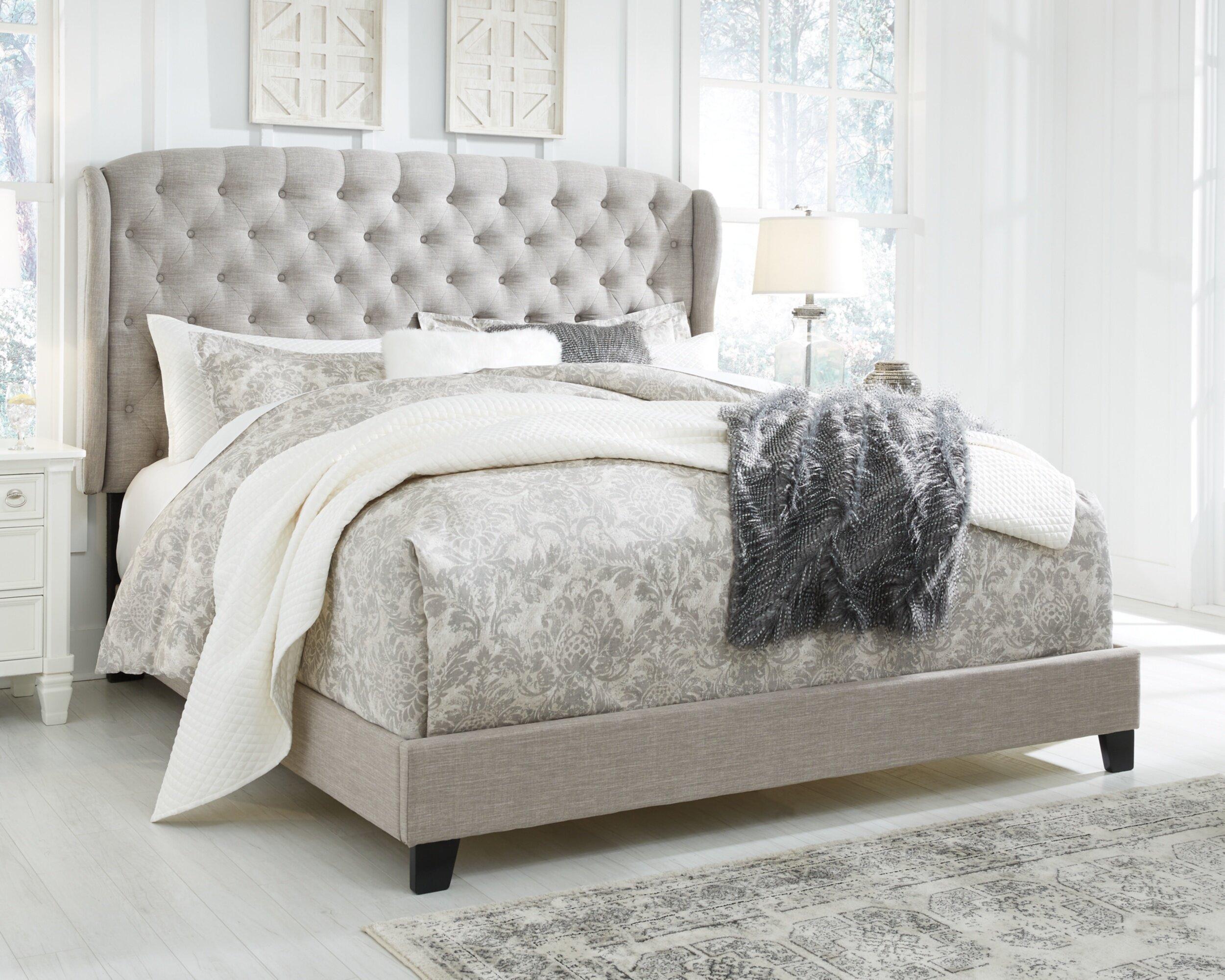 Three Posts Larios Queen Upholstered Standard Configurable Bedroom Set Reviews Wayfair