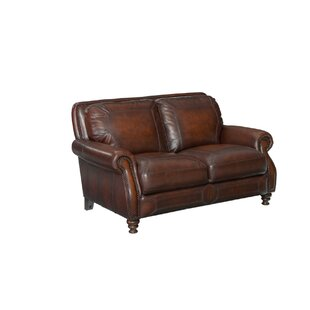 Best Choices Karlson Leather Loveseat by Greyleigh Reviews (2019) & Buyer's Guide