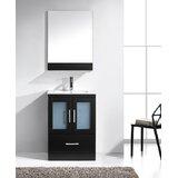 Iyanna 24 Single Bathroom Vanity Set with Mirror by Wade Logan®