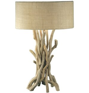 bright and modern driftwood desk. Sojitra Modern 23 6  Table Lamp Rustic Lamps You ll Love Wayfair