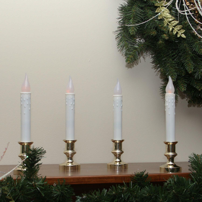 Northlight Flickering Window Christmas Candle Lamp Reviews Wayfair