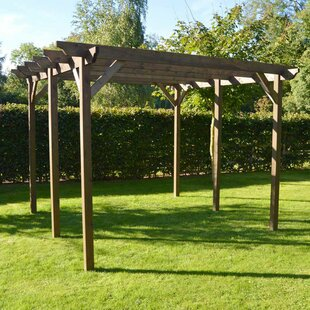 Deals Price Randi Manufactured Wood Pergola