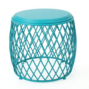 Quiles Metal Side Table