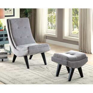 Brayden Studio Northerly Lounge Chair and Ottoman