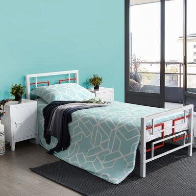 Arczi 34.8 Low Profile Platform Bed Latitude Run Size: Twin